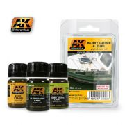 SLIMY GRIME AND FUEL EFFECTS SET<br> AK063